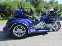 2002 HONDA GOLDWING GL1800 ROADSMITH TRIKE BY TRIKE