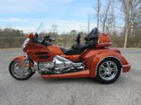 2002 HONDA GOLDWING GL1800 ROADSMITH TRIKE. THIS IS A