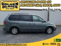 Options Included: N/AThis 2002 Honda Odyssey EX is