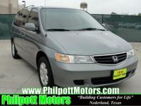 Options Included: N/A2002 Honda Odyssey, green with