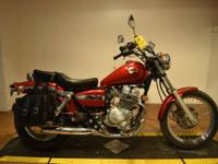 2002 Honda Rebel Inexpensive starter bike with bags.