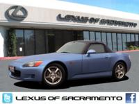 Super clean and well maintained S2000. Top was replaced