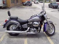 For sale: Beautiful Honda shadow in brand name new