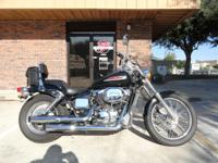 2002 Honda Shadow 750, 27K, Black, Pipes, bag,