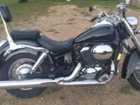 Nice 2002 Honda Shadow ace 750. Clean Title in hand.