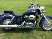Like new honda shadow 750. This is the american