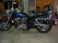 2002 Honda shadow sabre 750cc with 27100 miles bike is