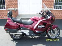 This is a very nice 2002 Honda ST1100 Sport tourer with