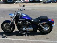 2002 HONDA VTX 1800 CCLEAN AND CLEAR CALIFORNIA TITLE