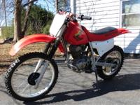 2002 HONDA XR 200 IN GREAT RUNNING CONDITION.NEW REAR