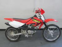 2002 Honda XR100R NICE RIDING TRAIL BIKE! WONT LAST