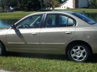 I have a 2002 4 door Hyundai Elantra GLS in excellent