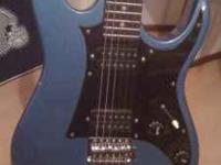 Have a 2002 Ibanez Metallic Blue Gio model. Its been