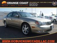 A-1 Condition! Stunning! This 2002 I35 is for Infiniti