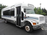 INTERNATIONAL 3400 DIESEL SHUTTLE BUS. PERFECT FOR