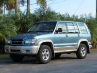 2002 ISUZU TROOPER 4X4 , AUTO, ICE COLD A/C, LOADED,