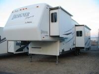 This 2002 Jayco Designer Legacy Model #3590RLTS is 37'.