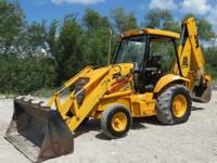 Features: 92 General Purpose Loader Bucket 24 Backhoe