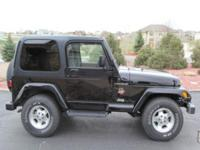 2002 JEEP WRANGLER SAHARA 4.0. THIS JEEP IS IN