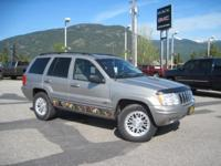 This 2002 Jeep Grand Cherokee was a local trade in and