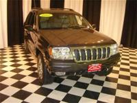 This 2002 Jeep Grand Cherokee 4dr Overland 4x4 SUV