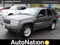 Searching for a clean, well-cared for 2002 Jeep Grand