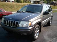 2002 Jeep Grand Cherokee Limited 4WD. This Jeep is a