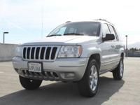 Options:  2002 Jeep Grand Cherokee Limited 4Wd 4Dr