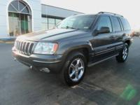 Overland trim. Heated Leather Seats, Moonroof, Multi-CD