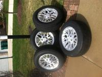 "Included are 4 2002 Jeep Grand Cherokee 17"" rims with"