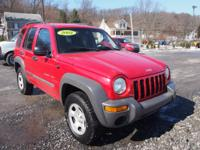 C.D. Player comes equipped on this 2002 Jeep Liberty