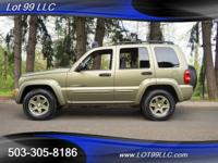 2002 *Jeep* *Liberty* *4X4*, *Renegade* Clean Title And