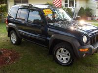 2002 JEEP LIBERTY SPORT 4X4 VERMONT CAR!!!!!!!!!!!! Low