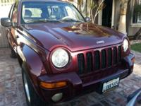 2002 Jeep Liberty, well kept, freeway miles. Due to the