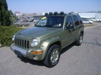 Options Included: Four Wheel Drive, Front Tow Hooks,