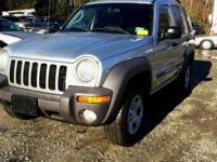 2002 Jeep liberty Sport 4wd,6 cylinders,123k