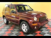 2002 Jeep Liberty Limited 4WD 2002 JEEP Liberty 4dr