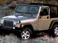 Body Style: SUV Engine: Gas I6 4.0L/242 Exterior Color: