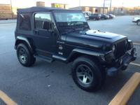 2002 Jeep Wrangler Sahara TJ. Automatic, 134,000 miles