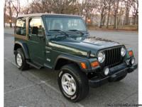 ASKING PRICE $2000. 2002 JEEP WRANGLER SPORT 4.0 6