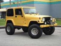 Jeep Wrangler X 6 Cyl 5 Speed - A/C - Excellent