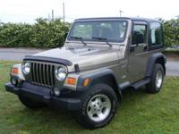 This 2002 Jeep Wrangler SPORT is offered to you for