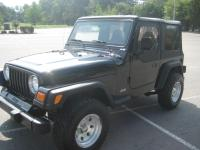 2002 Jeep Wrangler X 4x4 with only 46k miles.