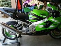 2002 Kawasaki Ninja ZX9R, 28417 miles, clean, very