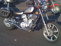 Nice Kawasaki Vulcan motorcycle for sale. Garage kept
