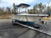 2002 Key West Semi V Center Console, 20', 150HP EFI