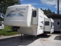 2002 Keystone Montana fifth wheel 34ft. Model 3235RL.