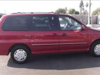 Options Included: N/A2002 Kia Sedona mini van Automatic