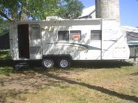 """2002 Kodiak Scamper K235 Hybrid travel trailer, 24' 4"""","""