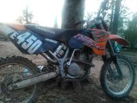 2002 KTM 520 with big bore kit, new timing chain,cam